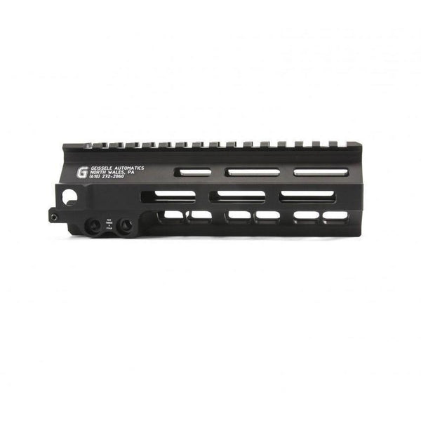 "Geissele Rails and Hand Guards Geissele Super Modular Rail Mk8 M-LOK 7"" Black"