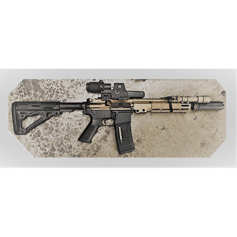 full Mk18 Mod2 rifle with Geissele Upper Receiver Group from Charlies Custom Clones:  Geissele M4 CQB Upper Receiver Group (URGi)