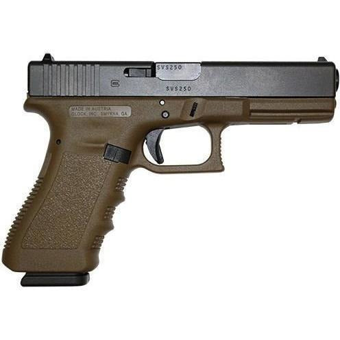 Glock Pistol (FIREARM) Glock G17 FDE 9mm Gen 3