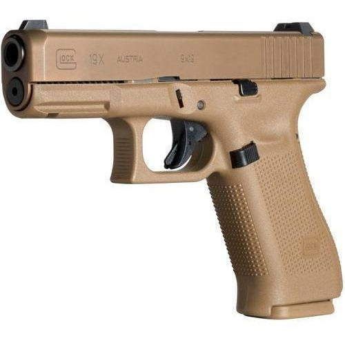 Glock Pistol (FIREARM) Glock G19X 9mm pistol FDE military compact