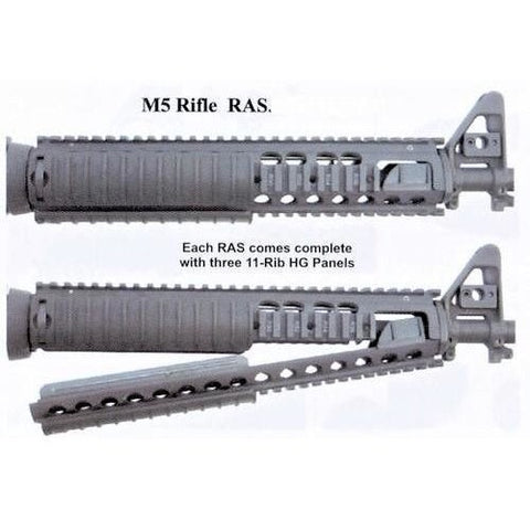 Knights Armament (KAC) Rails and Hand Guards Knights Armament KAC M5 Rifle RAS, 5.56, NOS