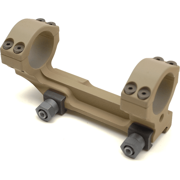 "Knights Armament (KAC) Rifle Scope Knights Armament KAC Scope Mount Assy, 30mm - TAUPE M110 (1.5"")"