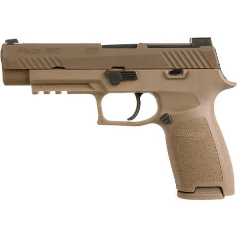 Sig Sauer Pistol (FIREARM) Army Coyote - No Manual Safety Sig Sauer P320 M17 9mm military pistol