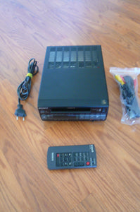 Sony EV-C3e 8mm pal system analog VCR plays 8mm video8 pal tapes