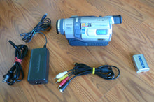 Sony DCR-TRV340e digital8 pal system camcorder plays 8mm Hi8 digital8 in Pal & NTSC