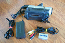 Sony DCR-TRV320e digital8 pal system camcorder plays 8mm Hi8 digital8 in Pal & NTSC