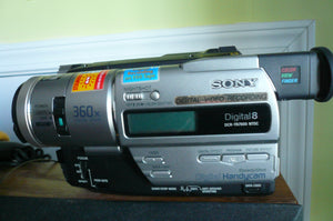 Sony DCR-TR7000 digital8 stereo NTSC camcorder plays 8mm Hi8 digital8