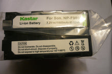 Kastar NP-F990 new sealed battery for Sony Camcorders & Video Walkman