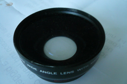 Digital high definition 0.45x wide angle lens with Macro
