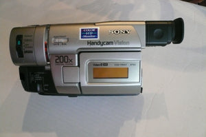 Like New Sony CCD-TRV37 NTSC 8mm camcorder plays 8mm video8 analog tapes