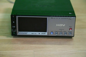 sony HVR-M10u High Definition NTSC / Pal miniDV video cassette recorder player