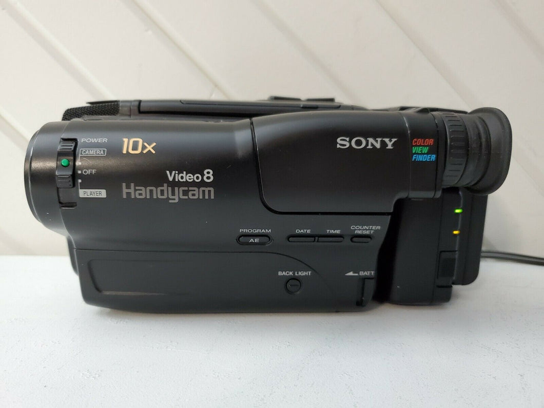 Sony CCD-TR370e 8mm video8 heavy duty pal system camcorder