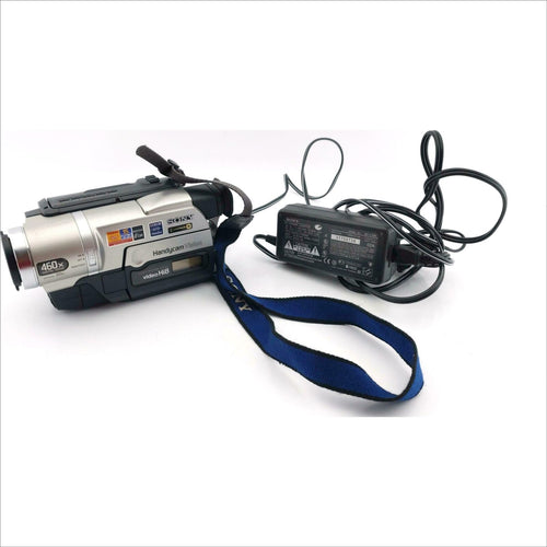 sony CCD-TRV108 Hi8 heavy duty NTSC camcorder plays 8mm Hi8 analog tapes