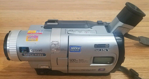 Sony DCR-TRV730 digital8 NTSC camcorder plays 8mm Hi8 digital8 tapes