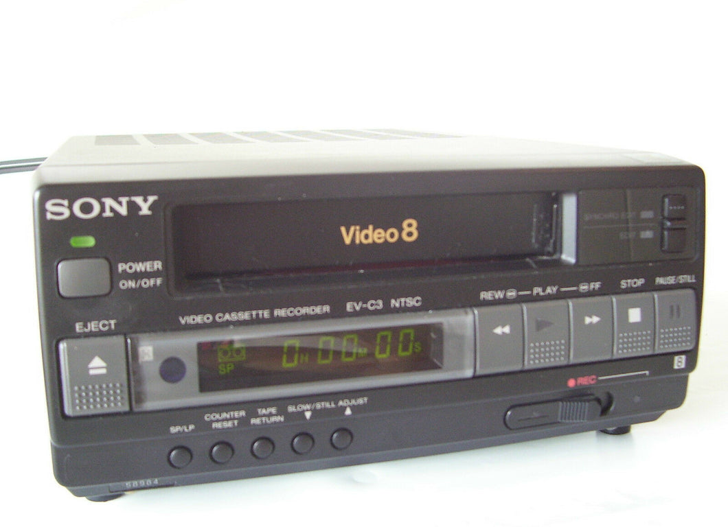 sony EV-C3 NTSC 8mm video8 heavy duty VCR
