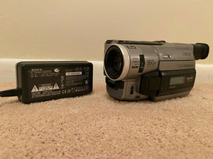 sony DCR-TRV310 digital8 stereo NTSC camcorder plays 8mm Hi8 digital8