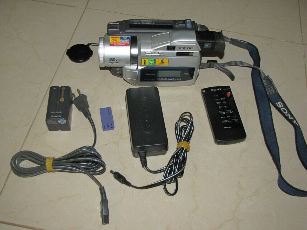 sony DCR-TRV720 digital8 stereo NTSC camcorder plays 8mm Hi8 digital8