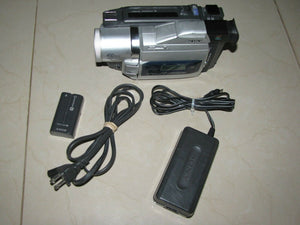 sony DCR-TRV820 digital8 stereo NTSC camcorder plays 8mm Hi8 digital8
