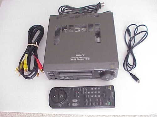 Sony EV-C500e Hi8 pal system stereo analog 8mm Hi8 video cassette recorder player