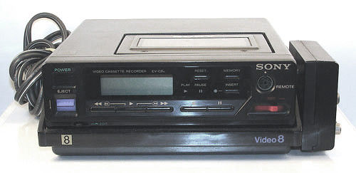 sony EV-C8u NTSC 8mm video8 heavy duty VCR