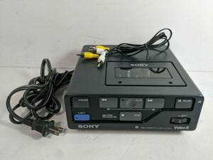 sony EV-P10u 8mm video8 NTSC heavy duty analog VCR