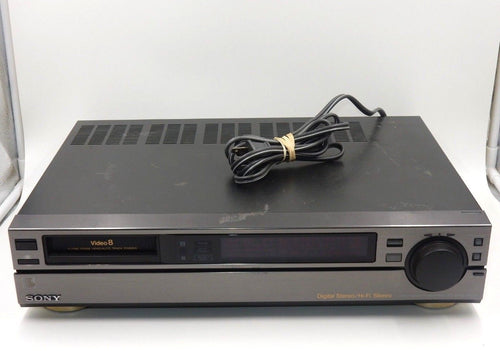 sony EV-S550 NTSC 8mm video8 stereo VCR with PCM audio