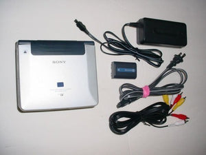 "sony GV-D1000 miniDV NTSC video cassette recorder player with 4"" LCD"