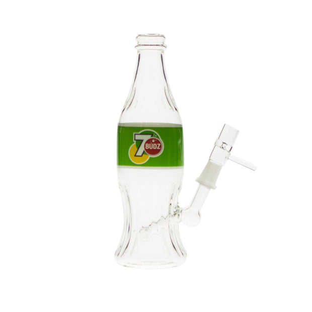 Seven Budz Soda Bottle Bubbler