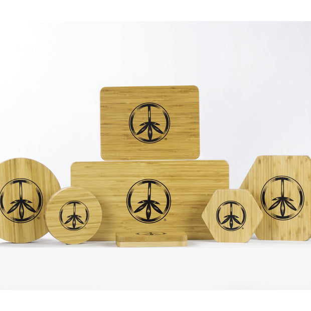 The World Piece Bamboo Trays