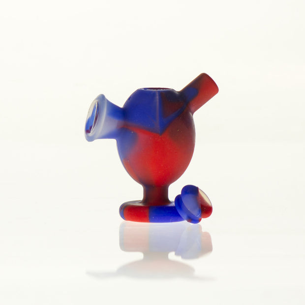 Silicone Joint Bubbler with glass insert