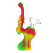 Mini Sherlock Bubbler w/ Silicone Downstem and Glass Bowl