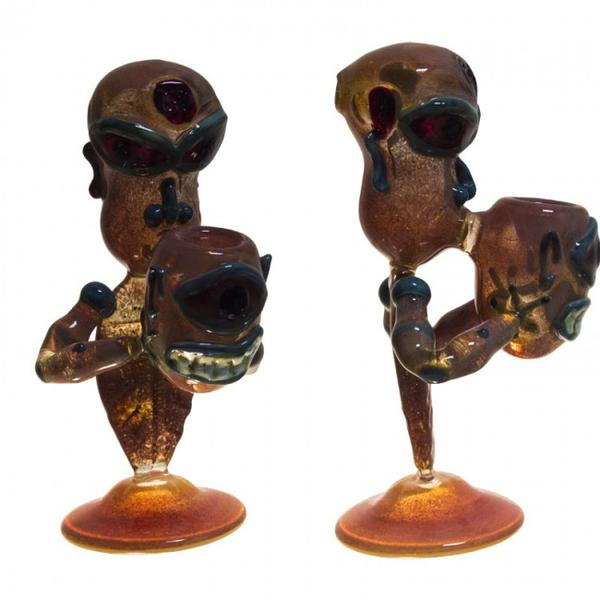 Pipe Glass Cannibal Frit
