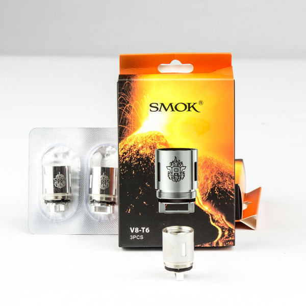 V8-T6 Coil for Smoktech TFV8 Pack of 3