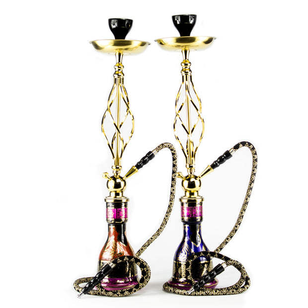 Arabian Knights Elite Gold Hookah