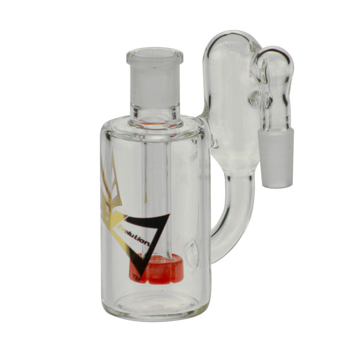 "Evolution Glass ""Cloud"" Ashcatcher with Showerhead Perc"