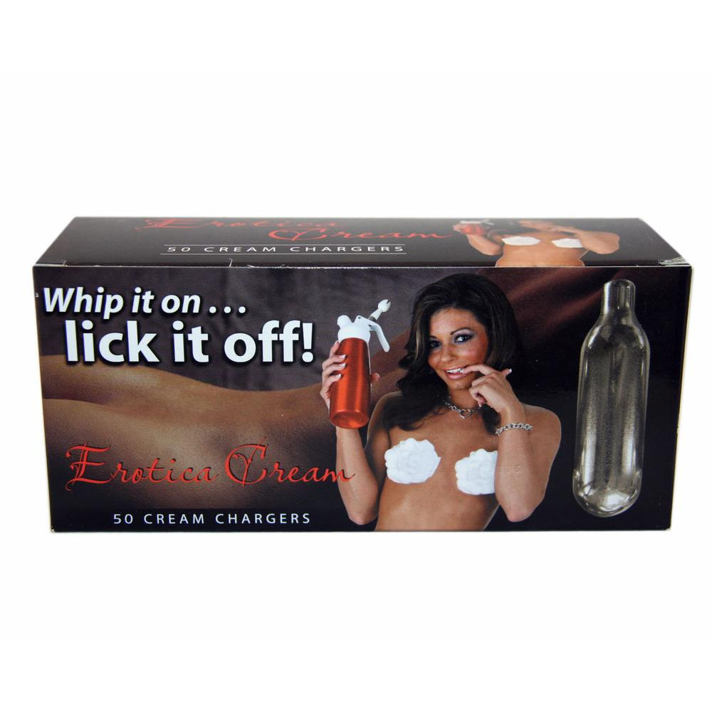 Erotica Cream N02 Cream Chargers Pack of 24