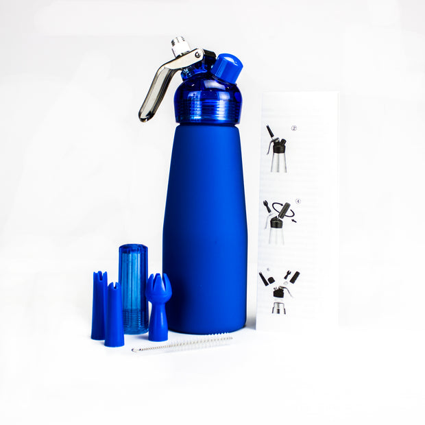 Special Blue Suede Edition Whip Cream Dispenser