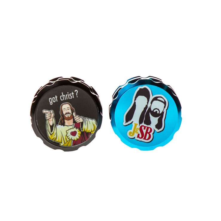 Jay and Silent Bob Buddy Christ Grinder
