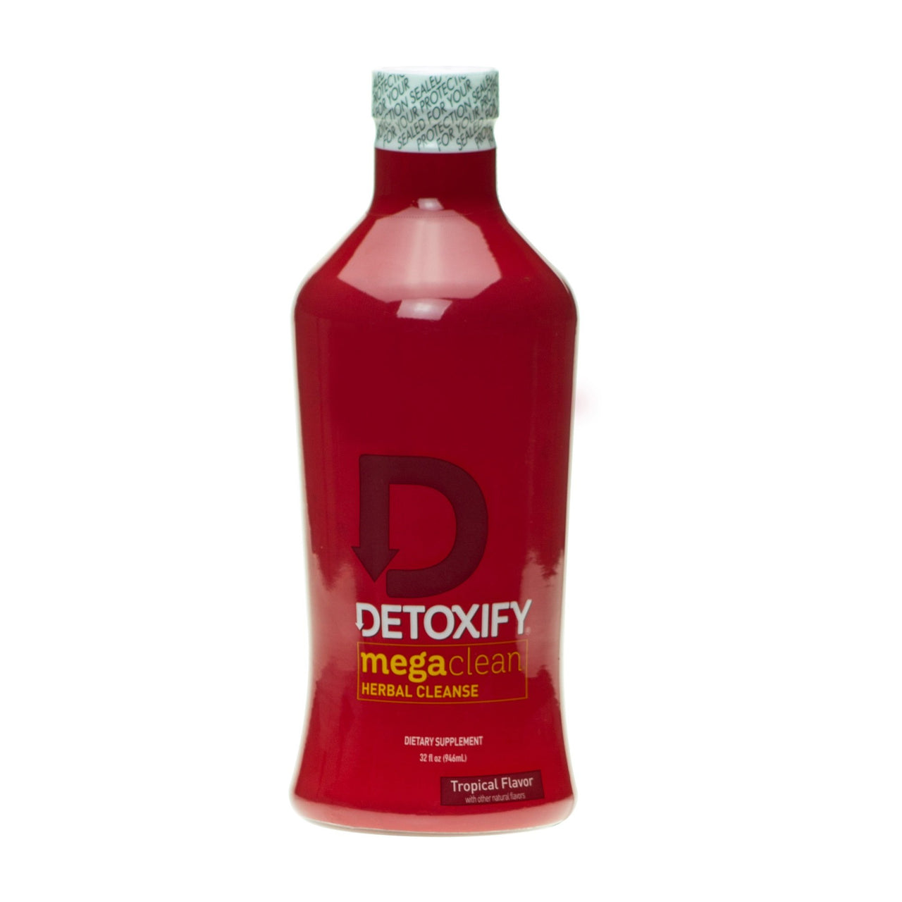 Detoxify Mega clean herbal cleanse 32oz - Tropical Flavour