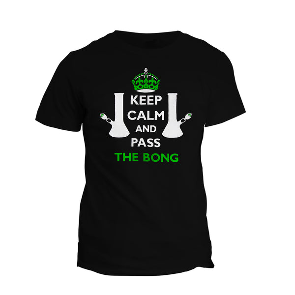 T-Shirt Pass The Bong