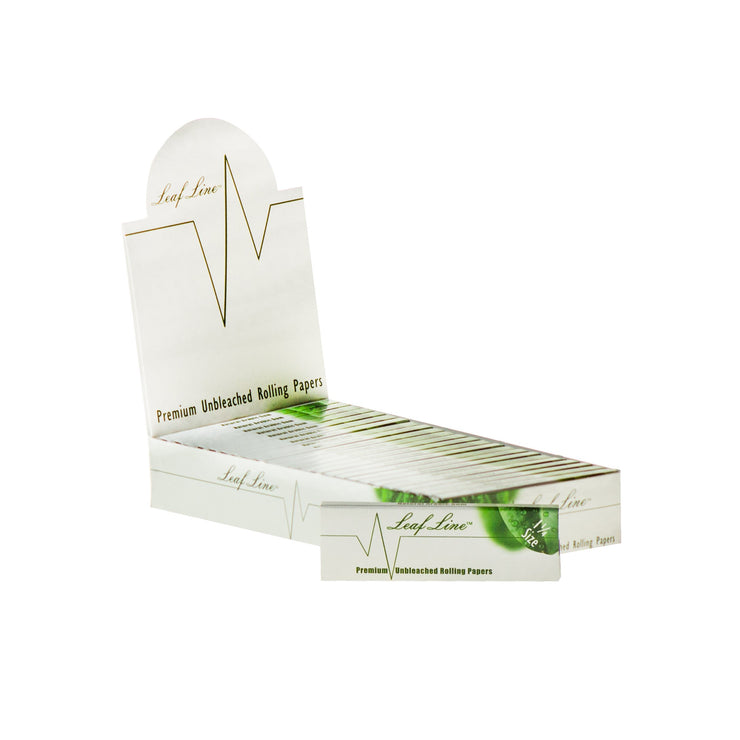 Leaf Line Natural Unbleached Rolling Papers - $1.00 OFF