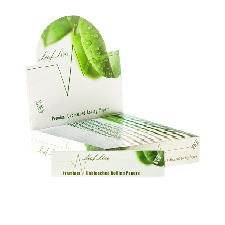 Leaf Line Natural Unbleached Rolling Papers - $0.66 OFF