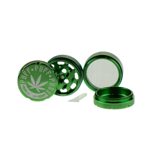 3 Stage Puff Puff Pass Grinder 40MM CNC Aluminum