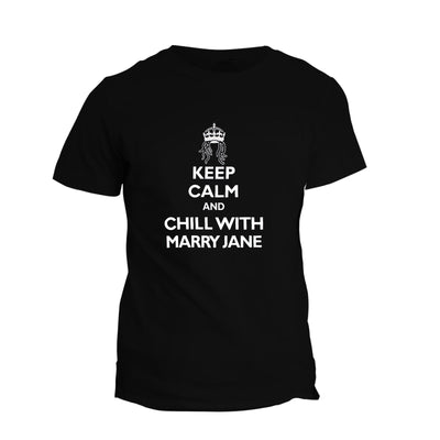 T-Shirt Keep Calm & Chill With Mary Jane