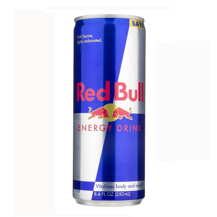 Stash Can Red Bull Energy Drink 8.4oz