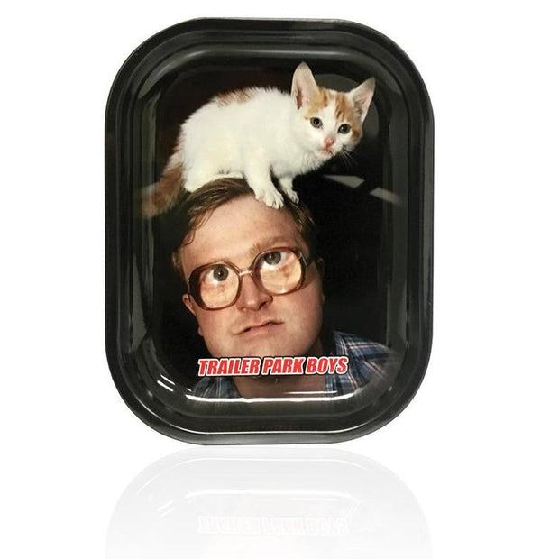 Trailer Park Boys Rolling Tray - Bubbles Cat