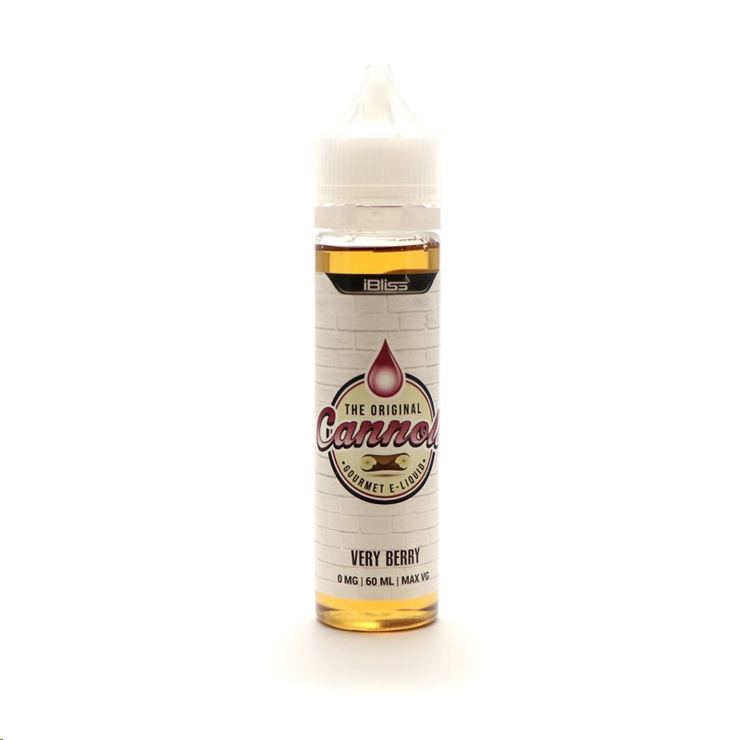 "E-Juice The Original Cannoli ""Very Berry"" 60ml"