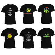 T-Shirt Keep Calm & Rasta On