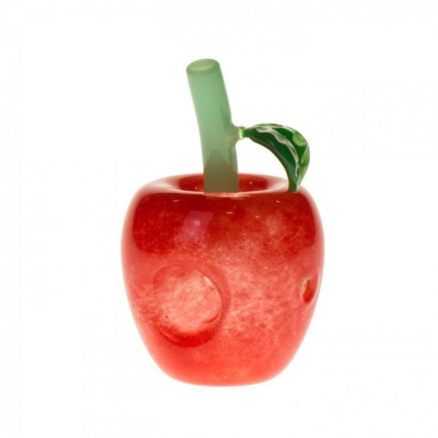 Pipe Glass Red Apple 3""