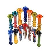Assorted Large Double Glass Pipes